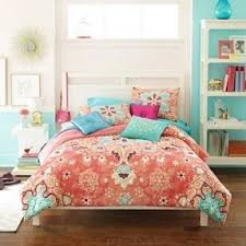 coral teen bedding foter