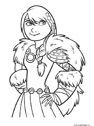 How To Train Your Dragon Coloring Pages 15