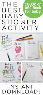 Abc Blocks Baby Shower Activity
