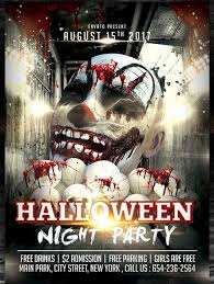 Free Halloween Flyer Templates by 20 Halloween Party Flyer Templates 2017 Psd File