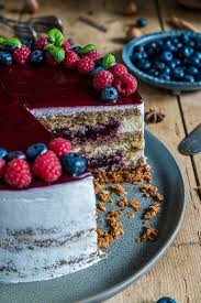 cassis haselnuss torte kuchen und torten kuchen und
