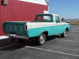 1963 Ford F100 Custom Cab Unibody For Sale #1816177 | Hemmings Motor ...