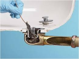 Home Remedies For Unclogging Bathtub Drains by Bathroom Sink Clogged Photo 2 Remove The Clogunclog A Bathroom