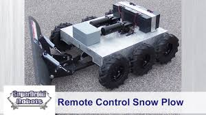 100 Rc Truck Snow Plow New Custom RC 6WD Robot With SOLD