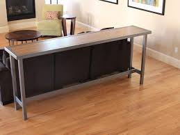 Narrow Sofa Table Behind Couch by Cool Bar Height Sofa Table 16 For Your With Bar Height Sofa Table