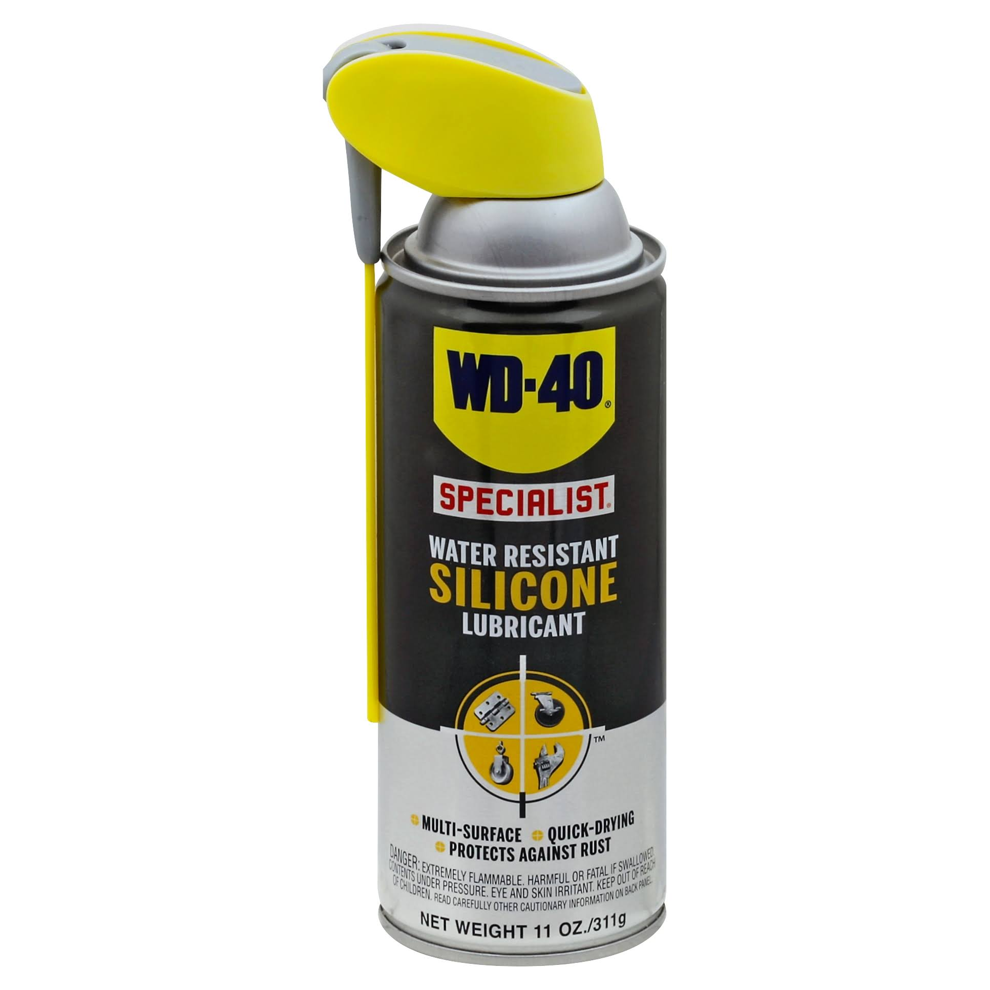 Wd40 Specialist Water Resistant Silicone Lubricant Spray - 311g