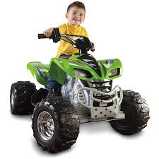 Power Wheels Kawasaki KFX 12-Volt Battery-Powered Ride-On, Green ... Amazoncom Kids 12v Battery Operated Ride On Jeep Truck With Big Rbp Rolling Power Wheels Wheels Sidewalk Race Youtube Best Rideontoys Loads Of Fun Riding Along In Their Very Own Cars Kid Trax Red Fire Engine Electric Rideon Toys Games Tonka Dump As Well Gmc Together With Also Grave Digger Wheels Monster Action 12 Volt Nickelodeon Blaze And The Machine Toy Modded The Chicago Garage We Review Ford F150 Trucker Gift Rubicon Kmart Exclusive Shop Your Way Kawasaki Kfx 12volt Battypowered Green