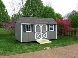 Wooden Gray Storage Shed With Wooden Ramp   Quaker Style Sheds ... Outdoor Storage Sheds Kits Outside Shed Wood Plans Cheap Backyard Barns And For The Amish Built Best 25 Dormer Tools Ideas On Pinterest Roof Trusses Remodelaholic Cute Diy Chicken Coop With Attached Storage Sheds Small 80 Incredible Makeover Design Ideas Shed Attached To House House Backyard 27 Creative That Look Like Houses Pixelmaricom Wooden Prefab Custom Modular Buildings Woodtex
