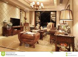 wohnzimmer klassisch stockbild bild holz teppiche