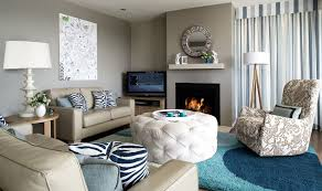 taupe and blue living room ideas modern house
