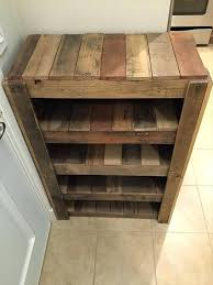 Small Pallet Projects Reclaimed Shoe Rack Storage Ideas For Spaces Captivating Diy Wood Shelves