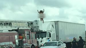 The Strangest Stories Of 2016 | Abc13.com Uber To Launch Freight For Longhaul Trucking Business Insider Driven The Tata Prima Race Truck Teambhp Truck Driver Life Of Travel A Memoir Soldiers Frsc Officials Strip Cab Naked Punch Newspapers Most Valuable Private Tech Companies In The World List Chevy Colorado Zr2 Pickup Review Photos Naked Man Seen Walking On Highway Augusta Dont Miss This Woman Holds Up Traffic Houston After Climbing Top Of An Prime Driver Jacob Home Facebook Dancing Will Not Be Charged Wgrzcom Lady Stops Stupid Extreme Road Bad Driving Skills Youtube