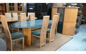 esszimmer tisch 6 stühle vitrine