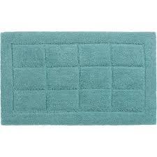 schöner wohnen badteppich santorin 55 cm x 65 cm kacheln hellblau
