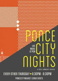 NEW ATL CONCERT SERIES PONCE CITY NIGHTS — Paper Garden Records