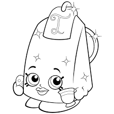 Lee Tea Coloring Page Shopkins Season 2