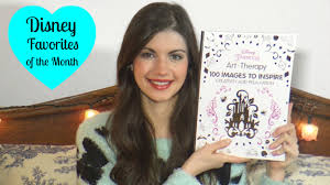 Disney Favorites Of The Month February 2016 Princess Art Therapy Coloring Book And More