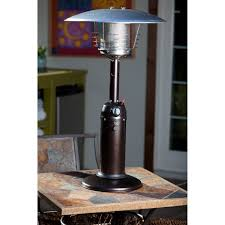 Living Accents Patio Heater Troubleshooting by Az Patio Heater Portable Hammered Bronze And Gold Tabletop Heater