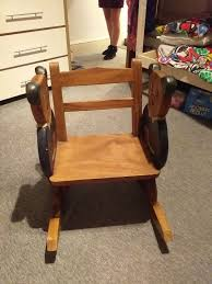 Solid Wood Rocking Chair In BL2 Bolton For £50.00 For Sale - Shpock Parker Converse Custom Rocking Chairs 10 Best 2019 Building A Modern Plywood Chair From One Sheet Modern To Buy Online Beachcrest Home Kandace Reviews Wayfair 18 Various Kinds Of Simple Wooden To Get And Use In Your Kirkton House Accent Aldi Uk Sika Design Nanny Exterior Touchgoods