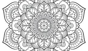 Mandala Coloring Pages Printable For Adults 6 Exciting Page Instant Pdf