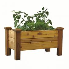 gronomics planter box 18 w x 34 l x 19 h pb 18 34 free