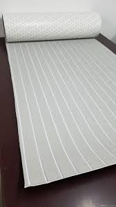 Non Skid Boat Deck Pads by 2018 Non Skid Eva Foam Faux Teak Sheet Boat Yacht Grey With White