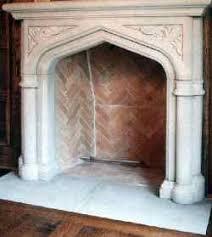 Fireplaces Limestone mantels