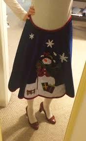 DIY Ugly Sweater Skirt