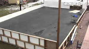 Back Yard Hockey Rink - YouTube