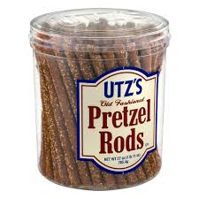 Utz Halloween Pretzels Nutrition Information by Utz Old Fashioned Pretzel Rods 28 Oz Walmart Com