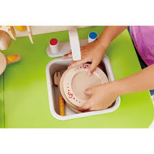 Hape Kitchen Set Canada by Hape E3101 Playfully Delicious Gourmet Kitchen In Green Play Set