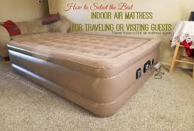 to Pick the Best Indoor Air Mattress