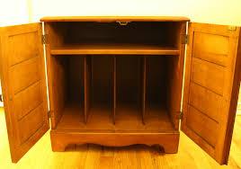 maple record cabinet 1
