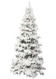 Slim Snow Flocked Christmas Tree by Flocked Christmas Tree Best Images Collections Hd For Gadget