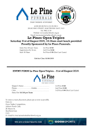 100 Le Pines Pine Triples 2019