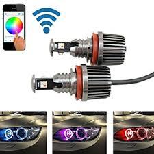 nslumo 72w h8 rgb color change wifi led