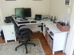 Small Corner Desk Ikea by Gray Corner Desk Best Home Furniture Decoration
