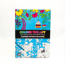 Colour Therapy Anti Stress Adult Colouring Book