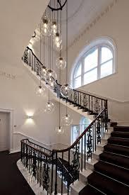 modern large chandelier lighting for hotel hallway