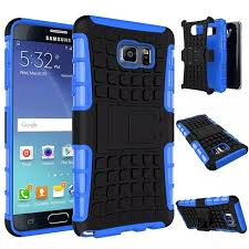 Phone Cases For Samsung GALAXY Note 5 Edge Case Heavy Duty Shock Proof TPU Hard Cell Phones Cover Bracket Tire Grain Design on Aliexpress
