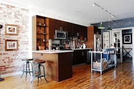 bois cuisine cuisine industrielle 43 inspirations pour un style industriel