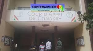 chambre d appel pas de chambre de criminelle à la cour d appel de conakry de