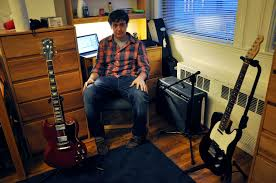 Professional Recording Studio But He Still Has A Personal Set Up In His Second Floor Dorm Lafayette To Churn Out Rock Blues And Pop