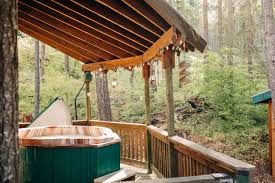 100 Tree Houses With Hot Tubs Romantic Wilderness House Near Memaloose State Park