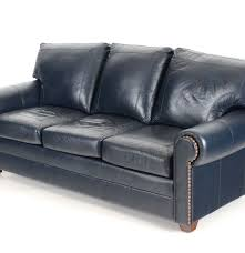 Stickley Mission Leather Sofa by Stickley Navy Leather Sofa Ebth
