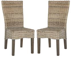 Amazon.com: Safavieh Home Collection Ozias White Wash Wicker Dining ... Cantik Gray Wicker Ding Chair Pier 1 Rattan Chairs For Trendy People Darbylanefniturecom Harrington Outdoor Neptune Living From Breeze Fniture Uk Corliving Set Of 4 Walmartcom Orient Express 2 Loom Sand Rope Vintage Weng With Seats By Martin Visser For T Amazoncom Christopher Knight Home 295968 Clementine Maya Grey Wash With Cushion Simply Oak Practical And Beautiful Unique Cane Ding Chairs Garden Armchair Patio Metal