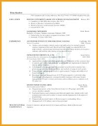 Sample Resume Mba Candidate Also Template Templates 6 For Prepare Astounding Best Examples College