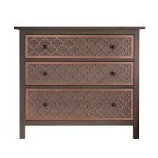 Meridian File Cabinets Remove Drawers by O U0027verlays Jasmine Kit For Ikea Hemnes 3 Drawer Painted Metallic