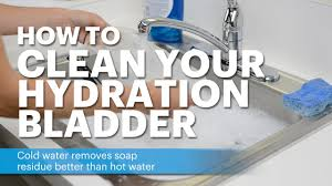 How To Properly Clean Bathroom by How To Clean Your Nathan Hydration Bladder Youtube