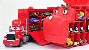 100 Big Mack Truck Disney Cars 3 With Chuggington Wilson Carry Case Cars